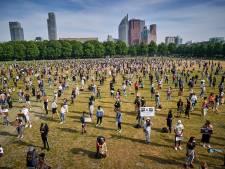 Kijk terug | Black Lives Matter-demonstratie verliep 'rustig, ordelijk en in goede sfeer'