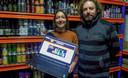 Joeri  en Nancy van Kaffee Bazaar startten de webwinkel bierbazaar.be op.