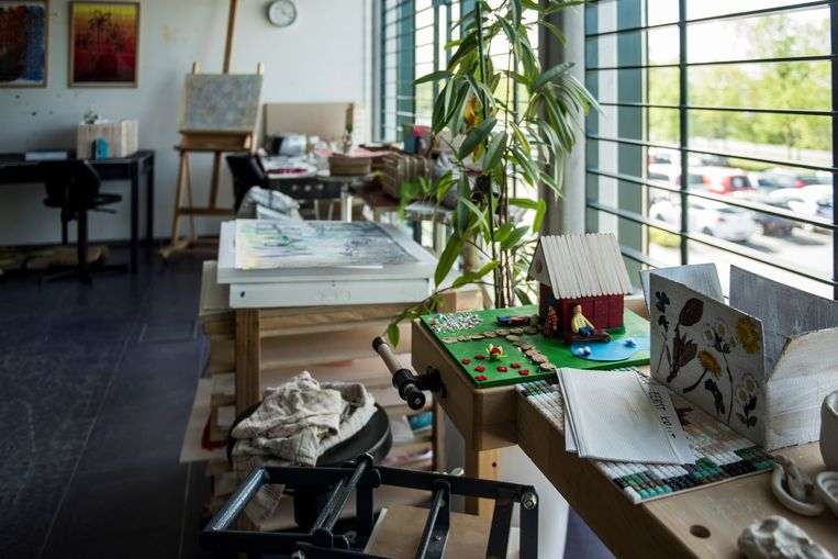 Creatieve therapieruimtes centrale gebouw Beeld Linelle Deunk