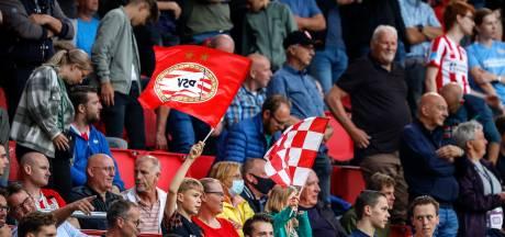PSV zag tegen PAOK ongeveer 18.000 toeschouwers de toegangspoort passeren