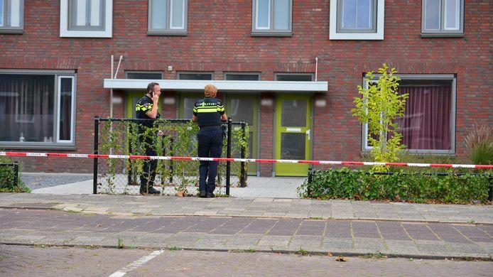 De politie doet onderzoek in Helmond.