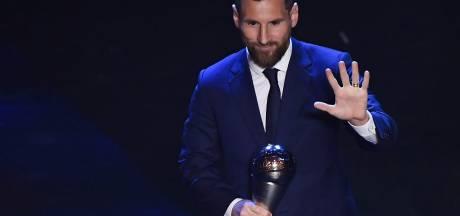 Van Dijk moet ondanks droomseizoen Messi voor laten gaan