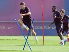 Koeman heeft Pedri en Sergi Roberto terug bij Barcelona