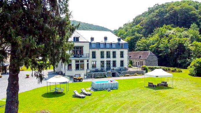 Het landgoed van Nicolas.