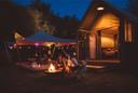 Camperen kan straks in luxe bij Bussloo.
