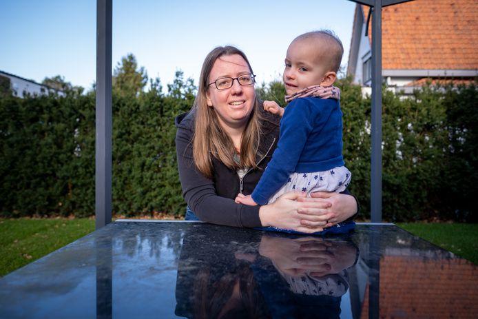 Jenny Smeets met haar dochter Eveline
