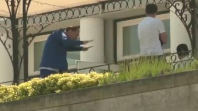 Thomas Tuchel imiteert op balkon van zijn hotel geestesverwant Pep Guardiola
