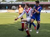 Tegen de counters van Sportclub Deventer is Harfsen niet opgewassen