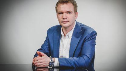 """Vlaams-Belang-lijsttrekker Klaas Slootmans na de winst: """"De Vlaams-nationalistische familie heeft bijna een absolute meerderheid in Vlaanderen"""""""