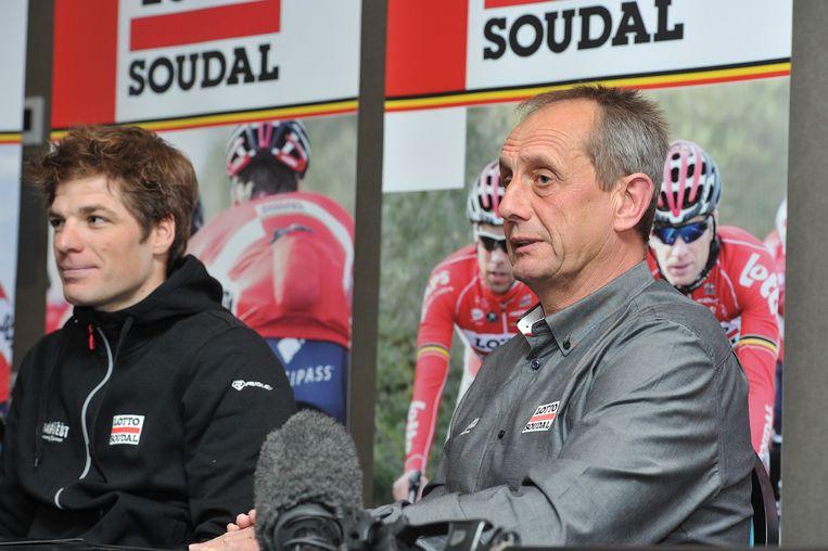 Lotto Soudal-ploegleider Herman Frison kijkt uit naar de start van het Vlaamse voorjaar.