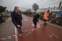 In Helmond werd een deel van het snelfietspad vorig jaar al geopend.