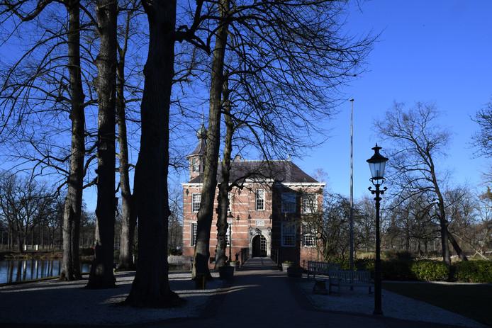 Het kasteel Bouvigne, bij het hoofdkantoor van waterschap Brabantse Delta in Breda.