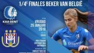 Schreeuw onze dames naar de overwinning: supporter mee voor kwartfinale KAA Gent Ladies tegen Anderlecht