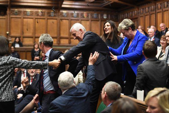 Sir Lindsay Hoyle, nieuwbakken voorzitter van het Britse Lagerhuis.