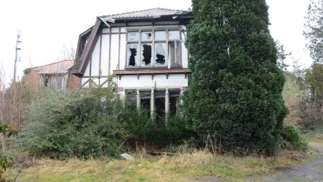 'Spookhuis' in Parklaan verdwijnt maandag onder de sloophamer