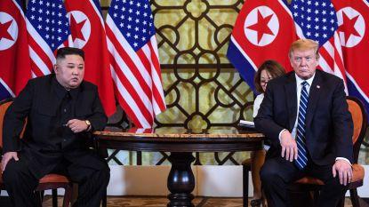 "Trump ""niet gehaast"" om nucleair akkoord te sluiten met Kim Jong-un"