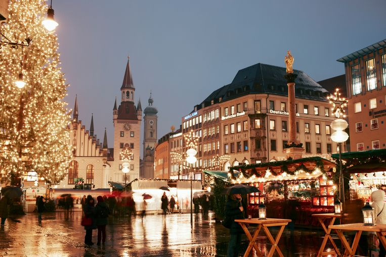 Germany, Christmas Market Beeld Getty Images