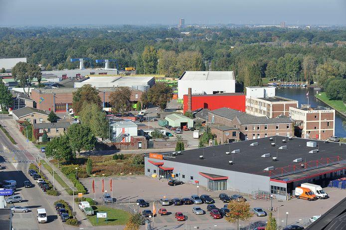 De Kop van Isselt: hier zijn 1200 nieuwe huizen gepland.