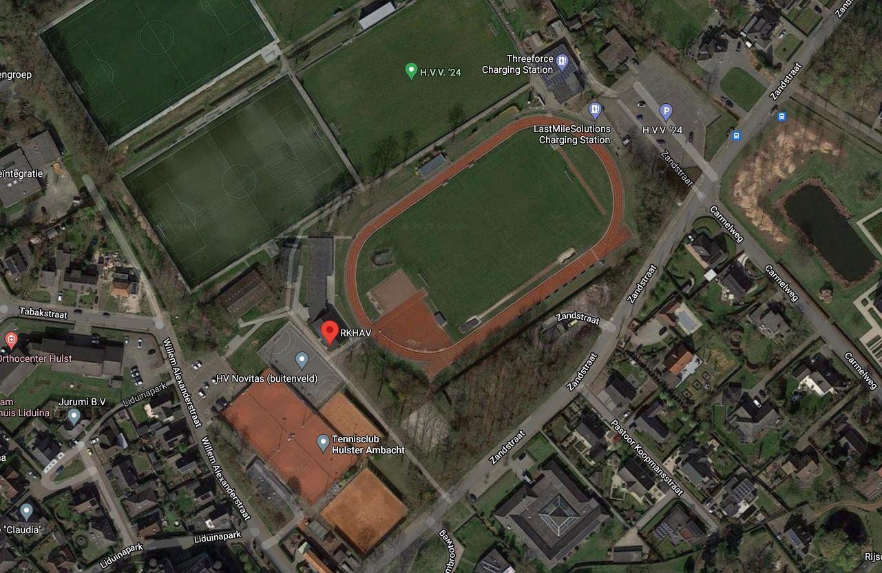 Atletiekbaan RKHAV in Hulst.