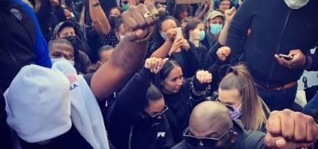 Damso s'est joint à la manifestation #BlackLivesMatter de Bruxelles