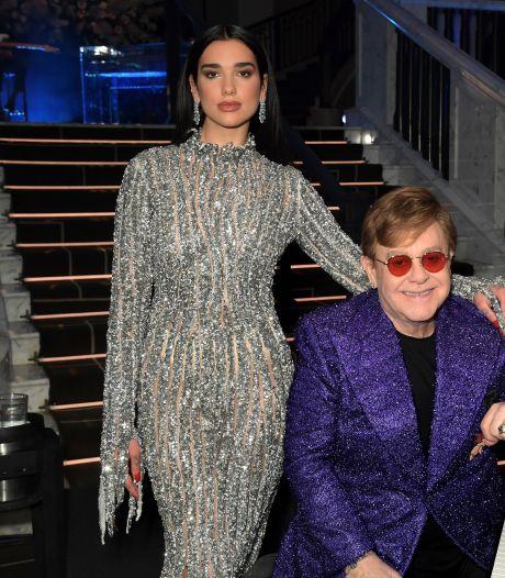 Elton John en Dua Lipa: een geslaagde kruising van twee popgeneraties