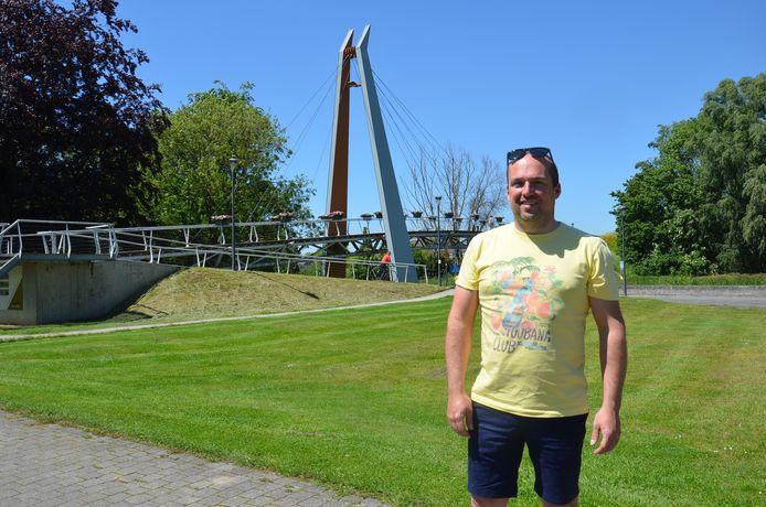 Manu Geeroms organiseert op 14 augustus het nieuwe zomerfestival 'Festiloco' aan voetgangersbrug 't Oeversteksken in Ninove.