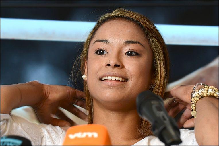 Aagje Vanwalleghem maakte in 2012 haar afscheid aan de turnsport bekend