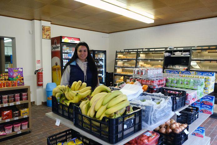 Barbara Buvei in haar gloednieuwe Holsbeek Market.