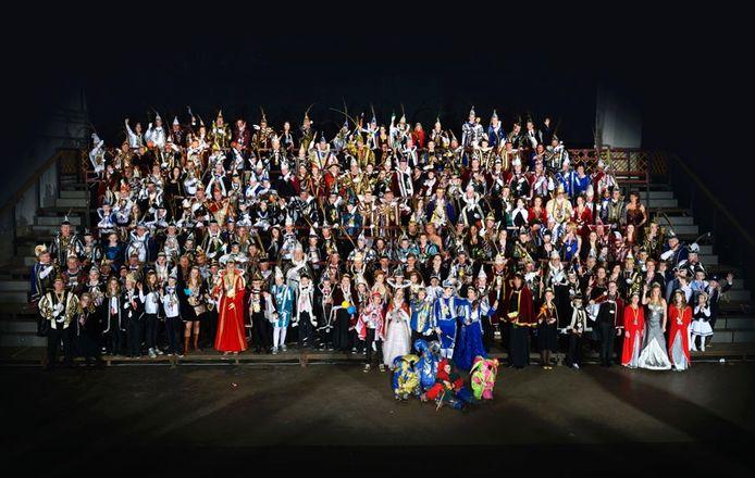 De grote groepsfoto in 2014.