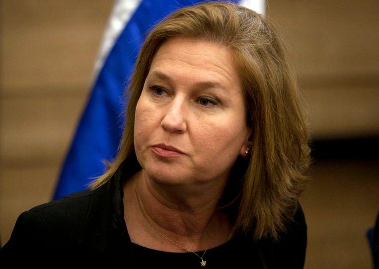 De Israëlische minister van Justitie Tzipi Livni. Beeld AP