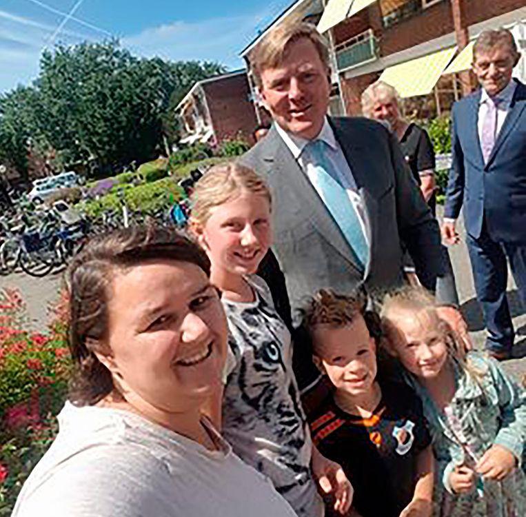 Lorena (26), Michelle (12), Lieke van der Bent (6), Nick Heemskerk (7) Beeld -