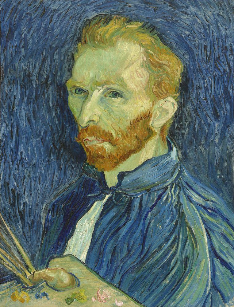 Zelfportret van Vincent van Gogh. Beeld Shutterstock