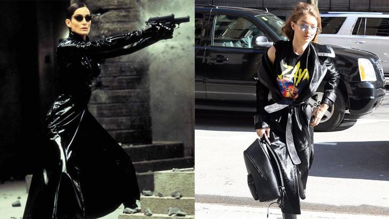 Trinity en Gigi Hadid.