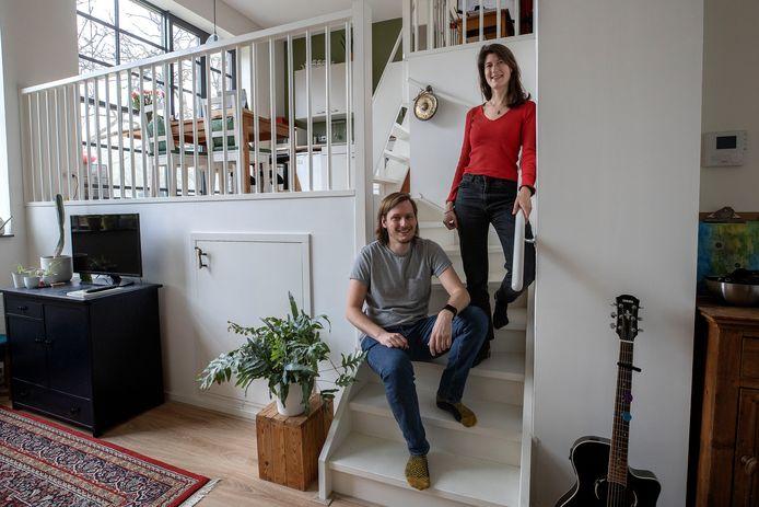 Lieke Stoffelen en Martijn van Santen wonen in Eindhoven, maar willen graag naar Waalre.