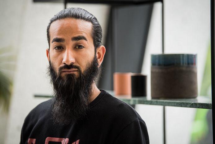 Loodgieter Ali Gurbany (29) overleefde de ramp op Nieuw Zuid ternauwernood.
