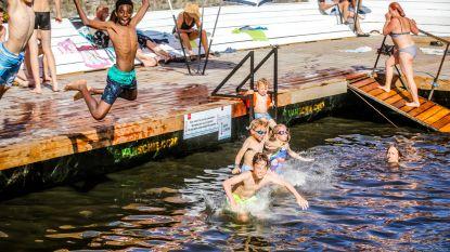 Zwemmen in Brugse reien kan ook in 2020 dankzij dit speciale toestel