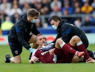 Plastische chirurg grijpt in na lelijke blessure Soucek, West Ham kan toch rekenen op sterkhouder tegen Genk