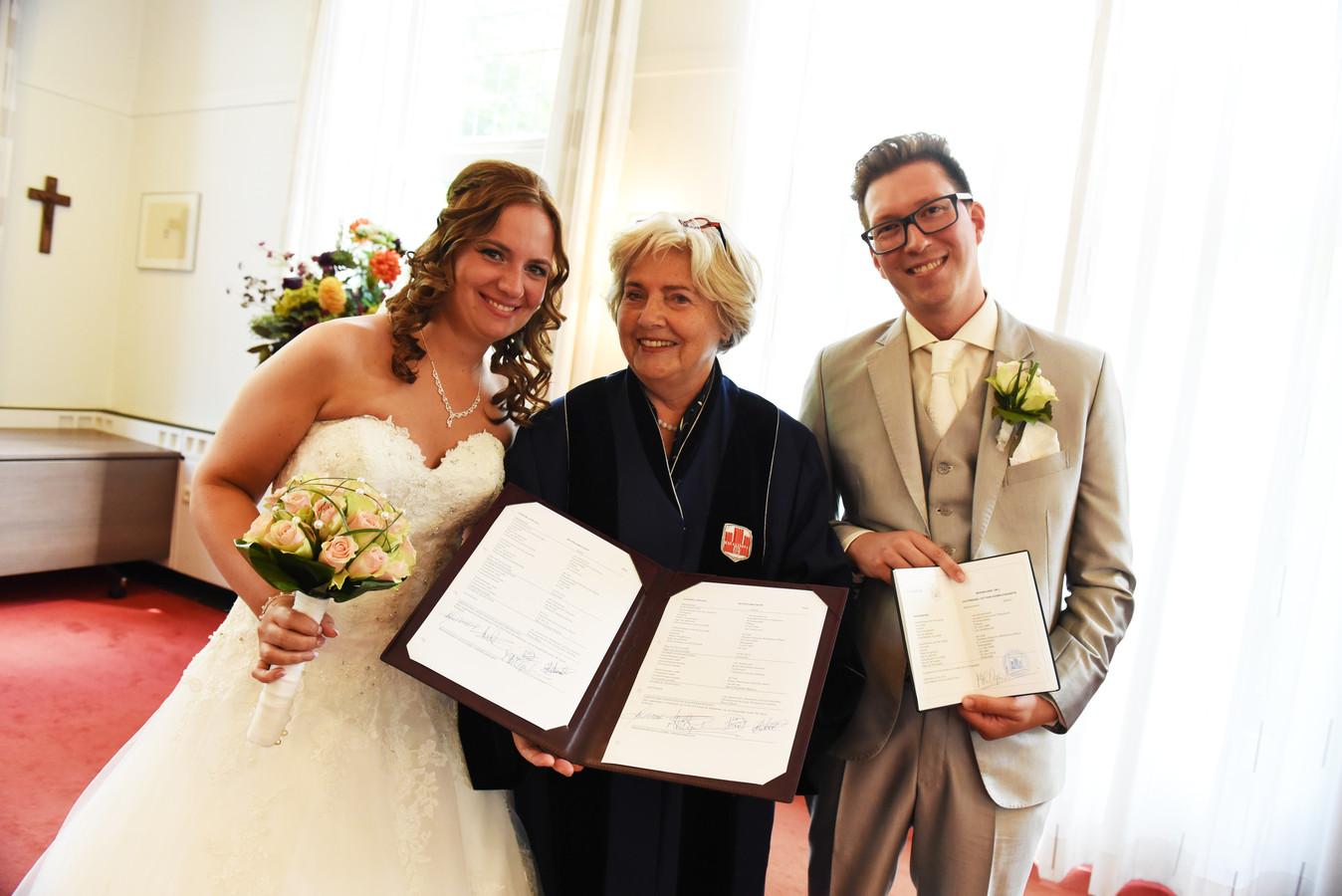 Laurens en Danique van Amelsvoort trouwden op 10 juni 2016