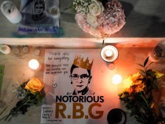 Overleden opperrechter Ruth Bader Ginsburg -of 'The Notorious RBG'- alom geëerd als voorvechter van vrouwenrechten