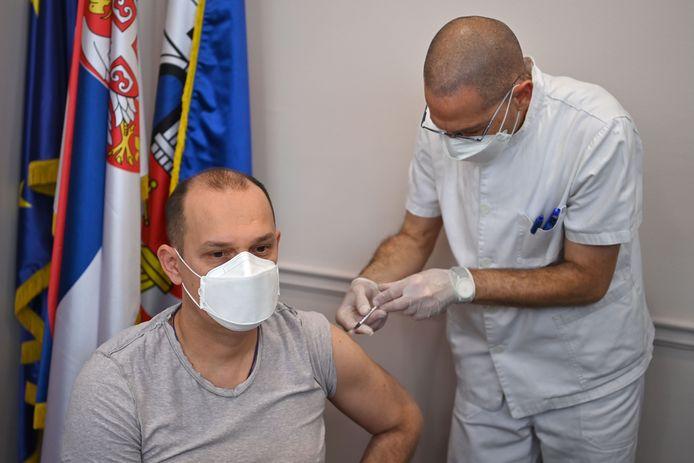 Le ministre serbe de la Santé, Zlatibor Loncar