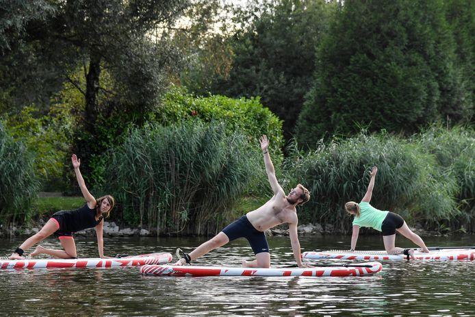 Archiefbeeld van yoga