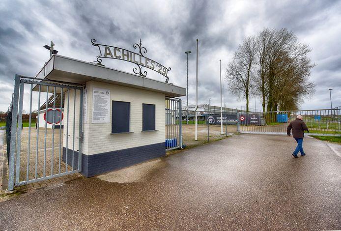 Voormalig terrein van voetbalclub Achilles '29: De Heikant.