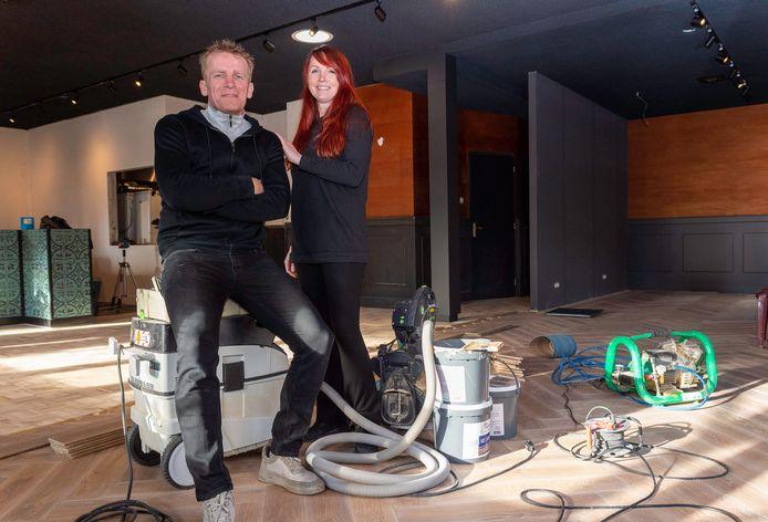 Ben Kamphuis en Marieke Modderkolk beginnen nieuw horeca-avontuur in Epe.