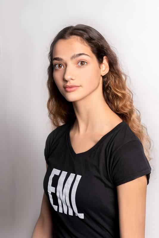 Helena Bader Mendez uit Arnhem viel af in de finale van de Elite Model Look Nederland 2019.