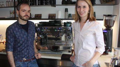 Hippe koffiebar op Brusselsesteenweg