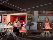 Koningin Máxima ontvangt eerste exemplaar van boek over de overgang: 'Als je een taboe wil doorbreken, moet je je eigen verhaal vertellen'