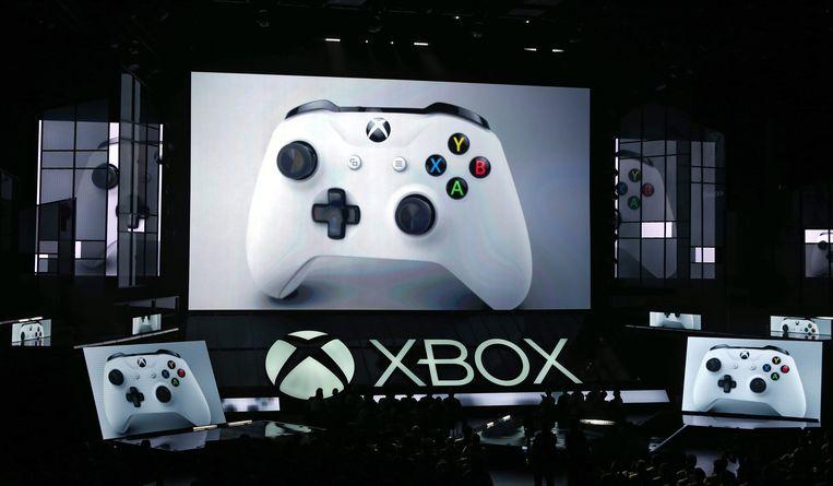 Xbox S wordt gepresenteerd op de E3. Beeld anp