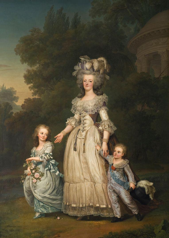Adolf Ulrich Wertmuller, Koningin Marie-Antoinette van Frankrijk met twee van haar kinderen (1785). Beeld Getty
