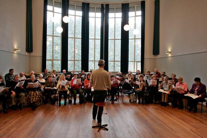 De concertzaal van het Theo Driessen Instituut in Helmond.