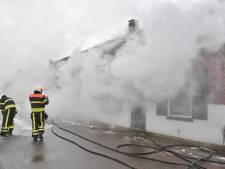 Brand in leegstaand pand in Berkel-Enschot, brand snel onder controle